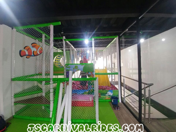 Good News from Our Panamanian Customer about Indoor Playground