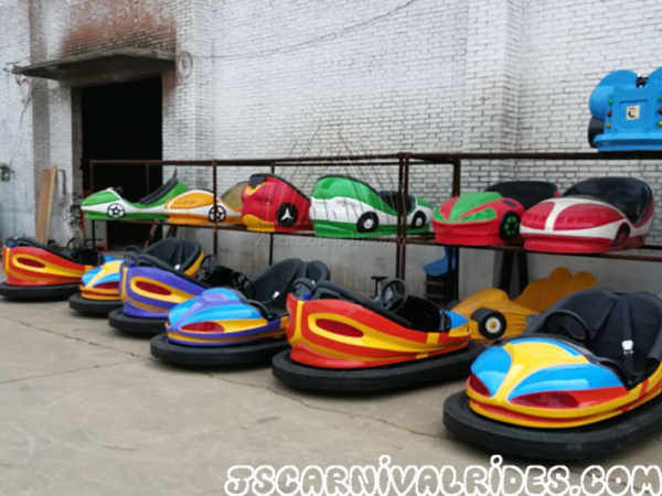 United States Client's Four Bumper Cars Are Ready!