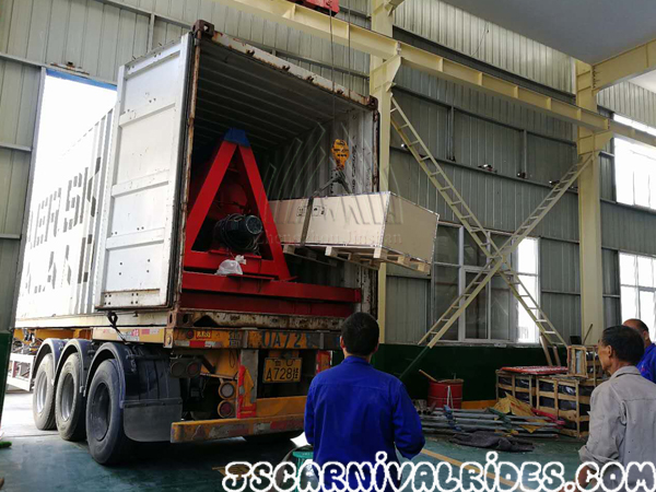 Shipping Carnival Rides to Greece