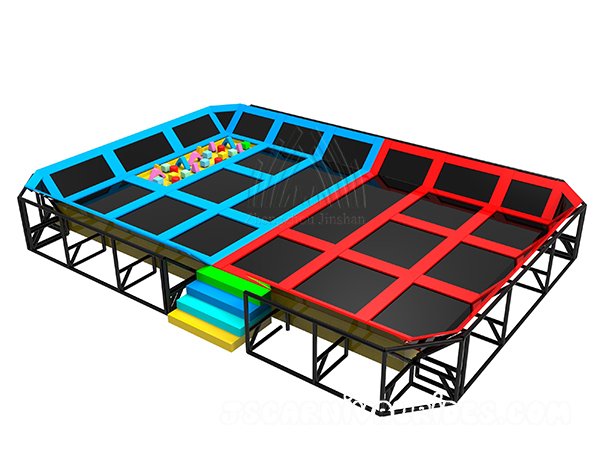 Trampoline Park Indoor Playground for sale