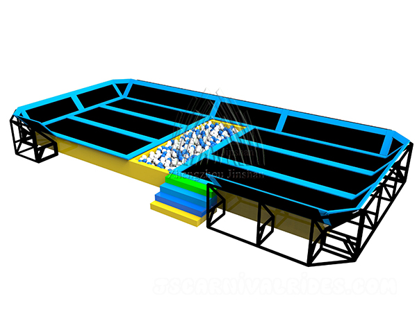 Sample indoor trampoline