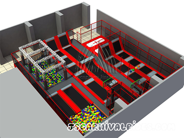 Children Trampoline Indoor Playground