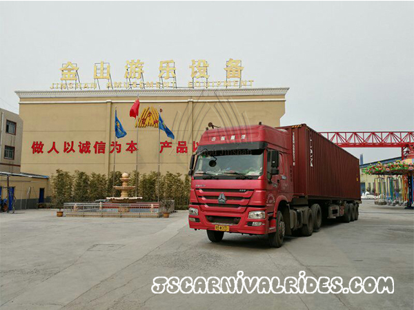 Shipping Carnival Rides to Ethiopia