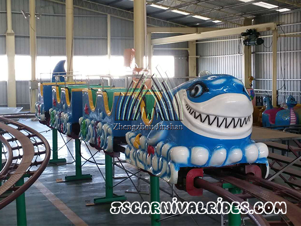 New Design Shark Roller Coaster
