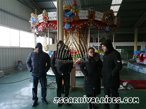 The Customers Who Came from Sri Lanka Visited Jinshan Factory
