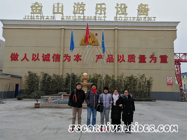 Burma Customers Came to Visit Our Factory
