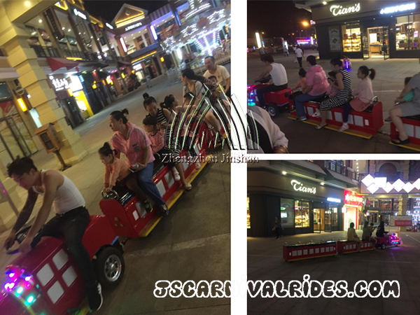 How to Choose the Trackless Train Rides ?