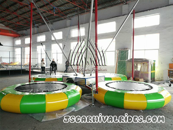 Bungee Jumping Trampoline and Happy Swing