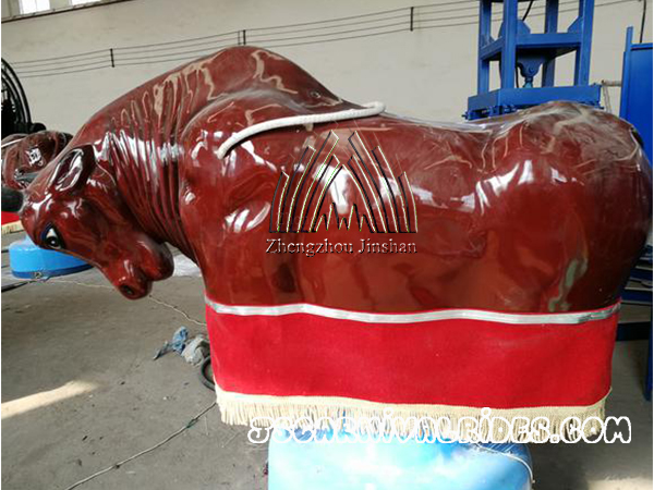 Deliver Mechanical Bull to Peru Client