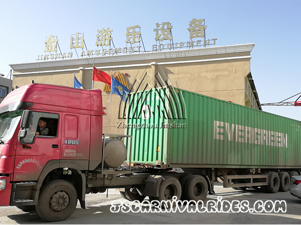 Shipping Amusement Park Rides to Chile