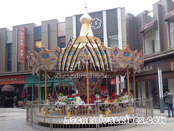 Deliver 12 Seats Luxury Carousel to Bahamas
