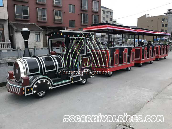 Shipping Customized Trackless Train to America