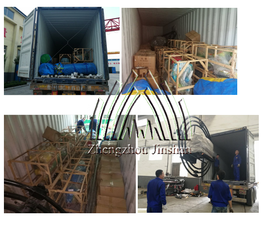 Load and Deliver Equipments to Japan