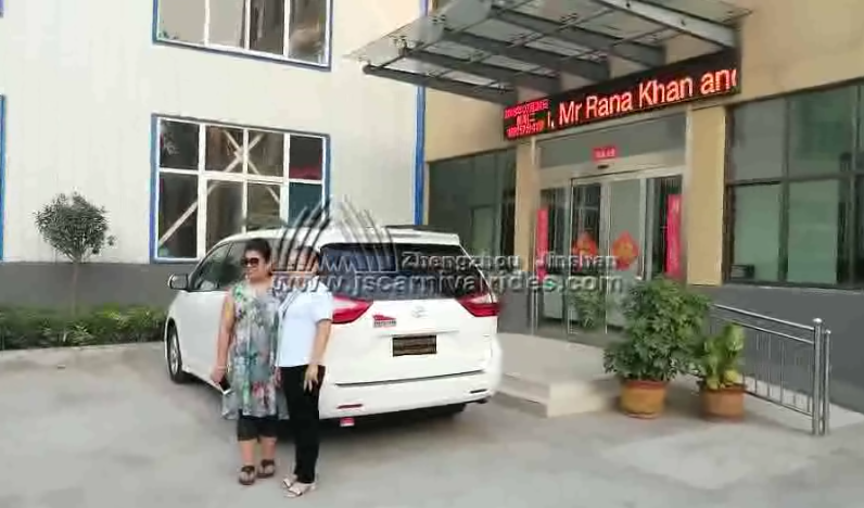Bengali Customers Visited Our Factory and Ordered Amusement Equipments