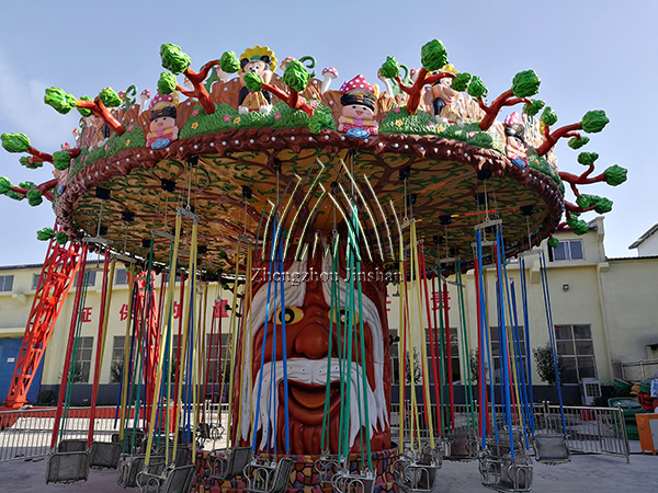 Precautions for Riding Large Amusement Equipments