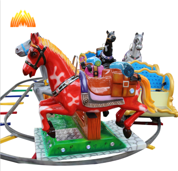 Super Fun Pony Train Ride