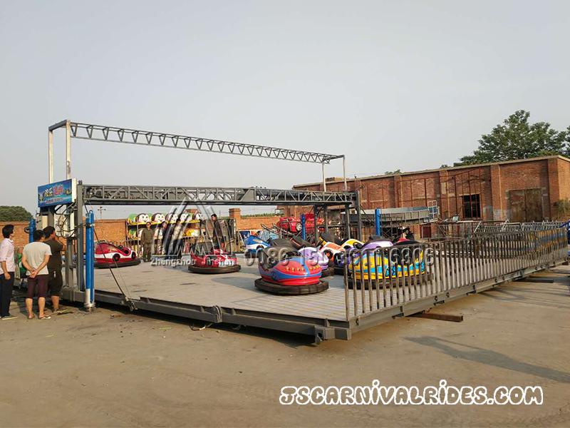 mobile ground grid bumper car (2)