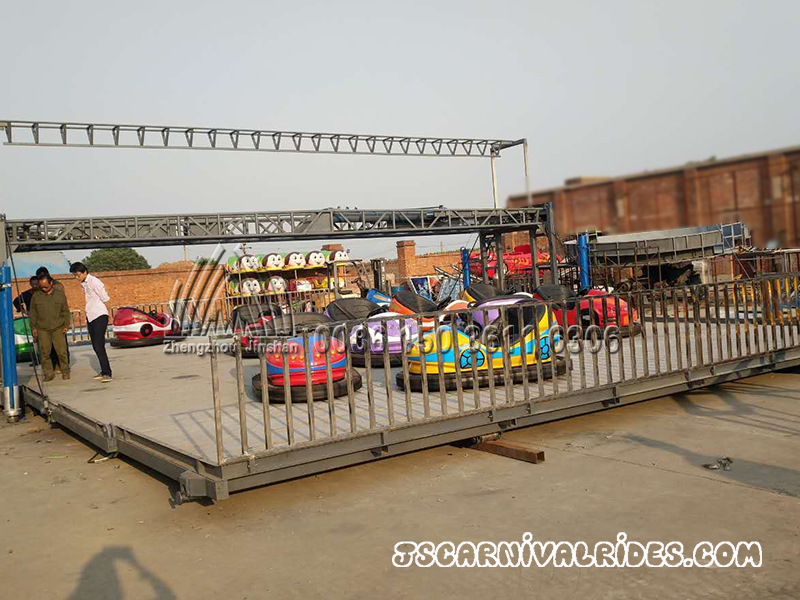 Mobile Ground Grid Bumper Car