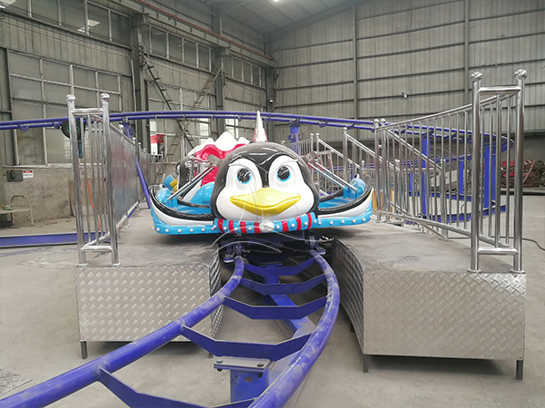 Penguin Pulley Roller Coaster
