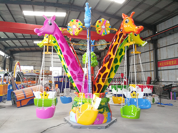 Color makes children's play equipment more wonderful