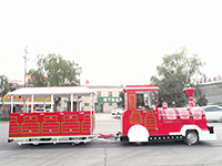 Our Nigeria Client's Christmas Trackless Train Is Ready!