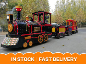 Antique Trackless Train For SALE