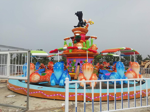 How to effectively reduce the wear of amusement equipment?