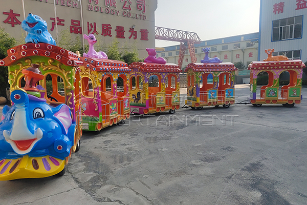 Preparations for installation of amusement equipment