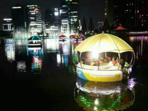 Barbecue Donut Boat For Sale
