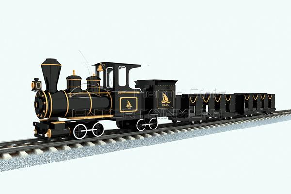 Medium track sightseeing train