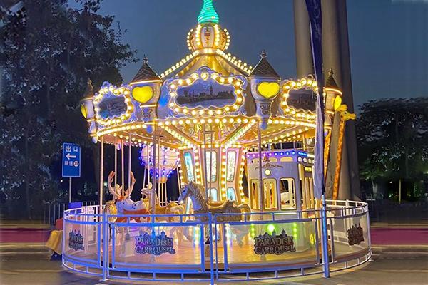 16 seats luxury carousel rides
